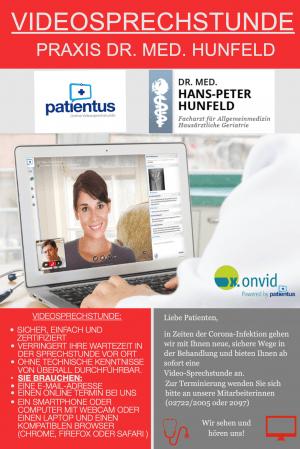 Video-Sprechstunde Arzt - Attendorn - Dr. med. Hunfeld